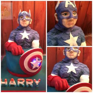 Captain America Collage