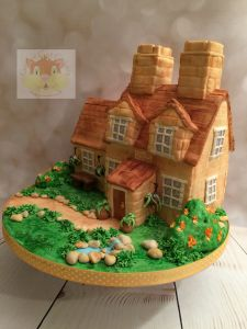 Cotswold cottage cake
