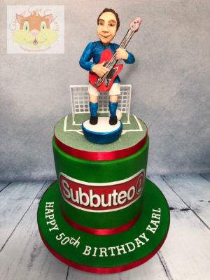subbuteo cake