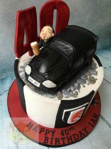 Honda car cake