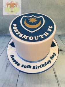 Portsmouth FC cake
