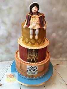 Henry VIII cake