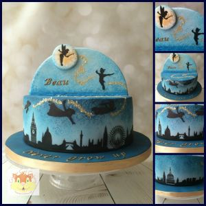 Collage Peter Pan With Logo