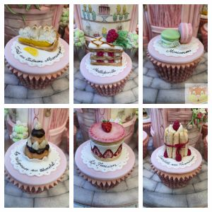 Cupcake Collage With Logo